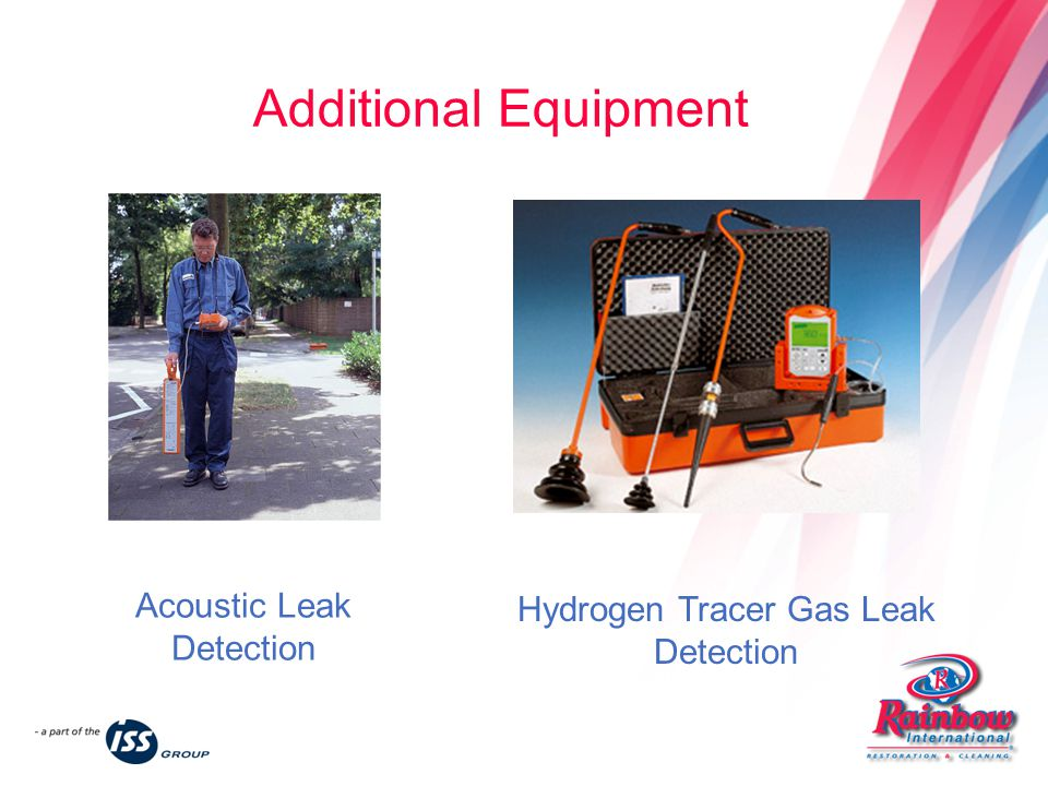 Hydrogen Tracer Gas Leak Detection Acoustic Leak Detection Additional Equipment