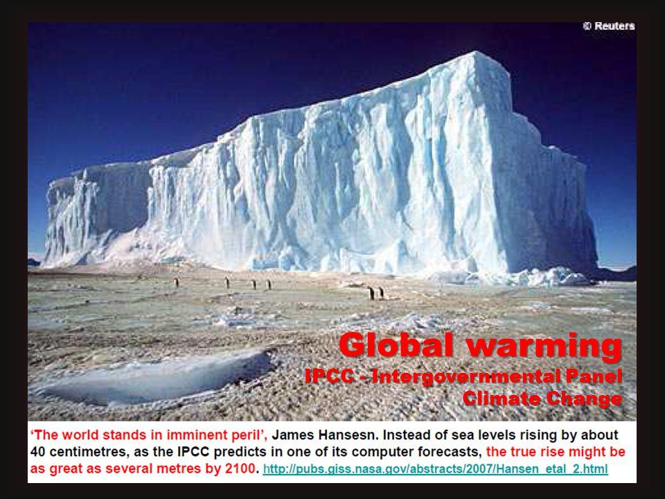 Global warming IPCC - Intergovernmental Panel Climate Change