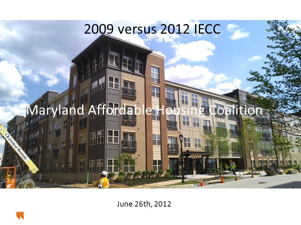 2009 versus 2012 IECC Two Generic Compliance Methods to either code 12 © 2011 Steven Winter Associates, Inc.