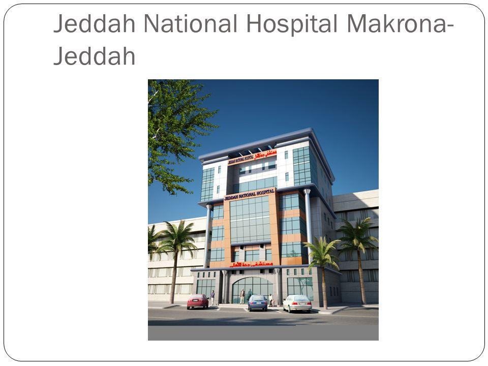 Jeddah National Hospital Makrona- Jeddah