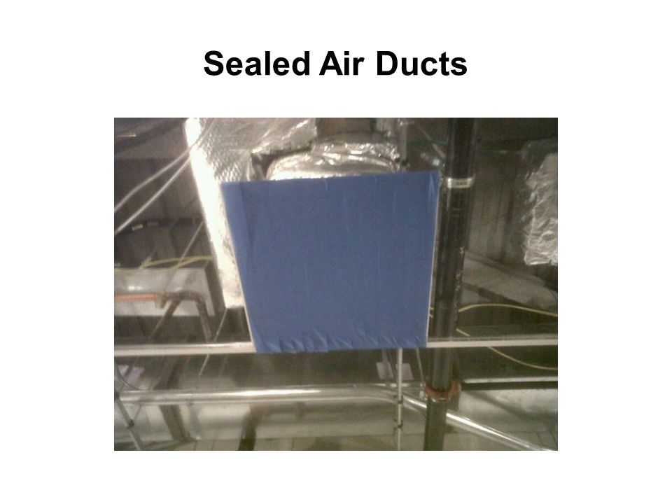 Sealed Air Ducts