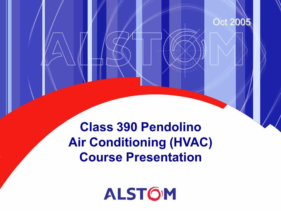 Class 390 Pendolino Air Conditioning (HVAC) Course Presentation Oct 2005