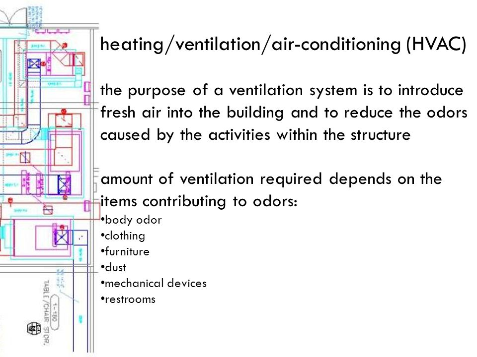 electrical the HVAC and lighting systems within a building require electrical power to function other heavy demands for electrical power depend upon the activities that are to take place within the building
