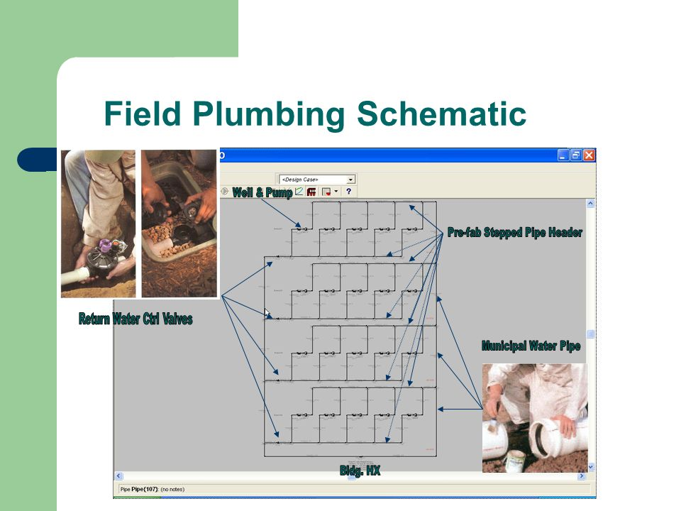 Field Plumbing Schematic