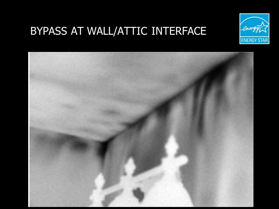 BYPASS AT WALL/ATTIC INTERFACE