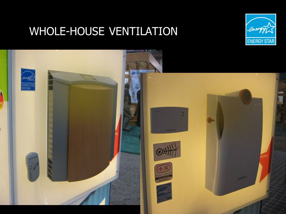 WHOLE-HOUSE VENTILATION