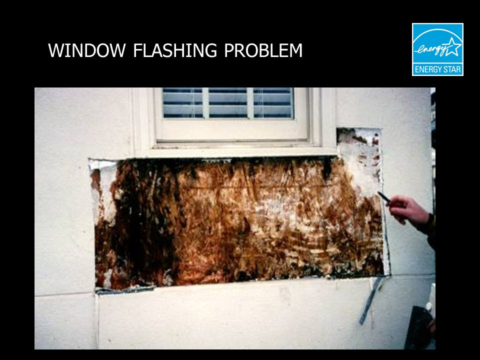 WINDOW FLASHING PROBLEM