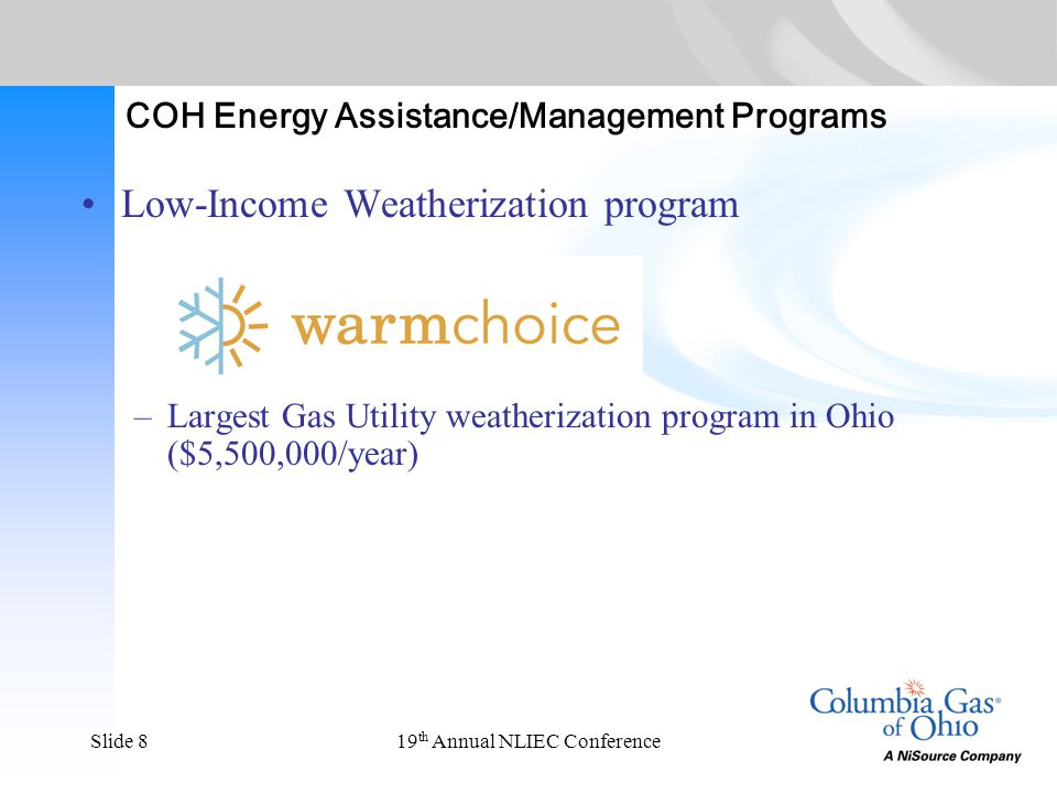 19 th Annual NLIEC ConferenceSlide 19 What makes it more substantial.