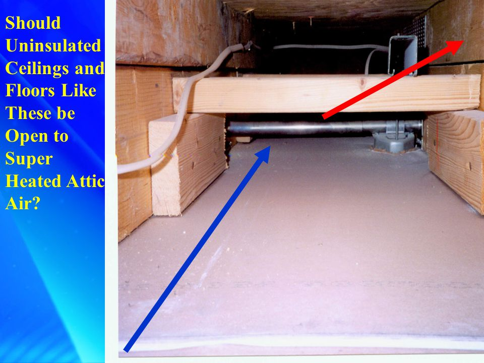 Kneewall: Pull the Insulation Back and...Instant Access to Uninsulated Ceilings and Floors.