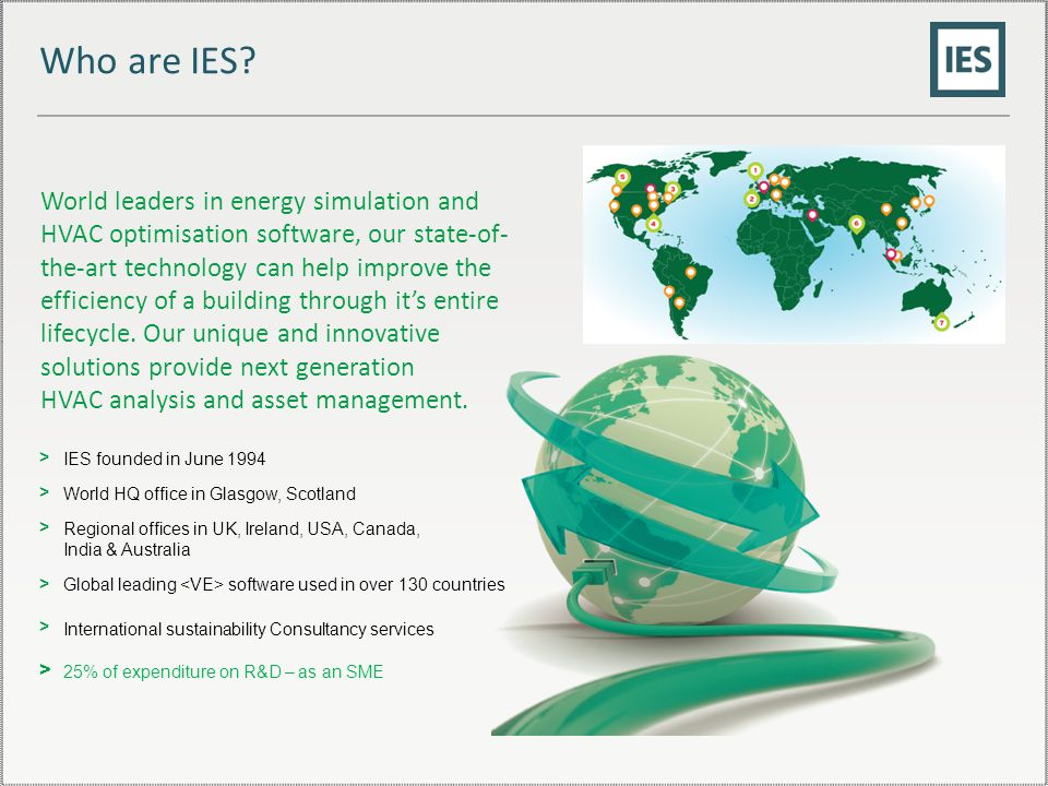 Who are IES.