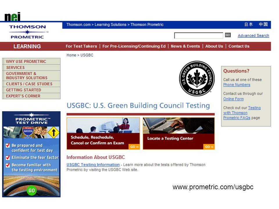 www.prometric.com/usgbc