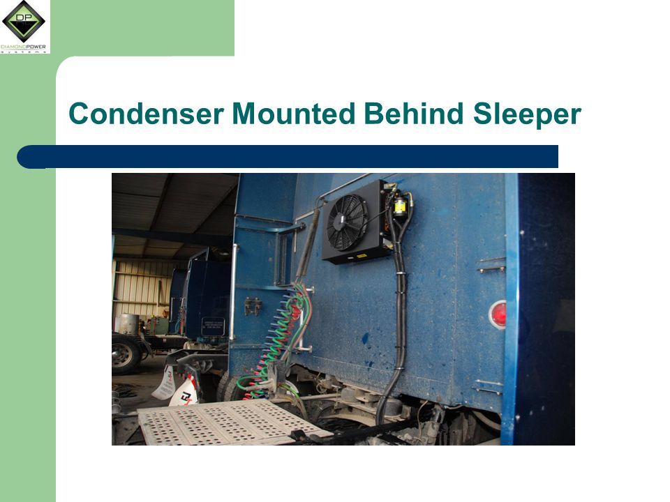 Condenser Mounted Behind Sleeper