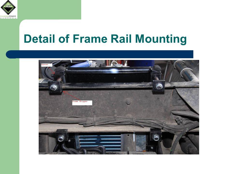 Detail of Frame Rail Mounting