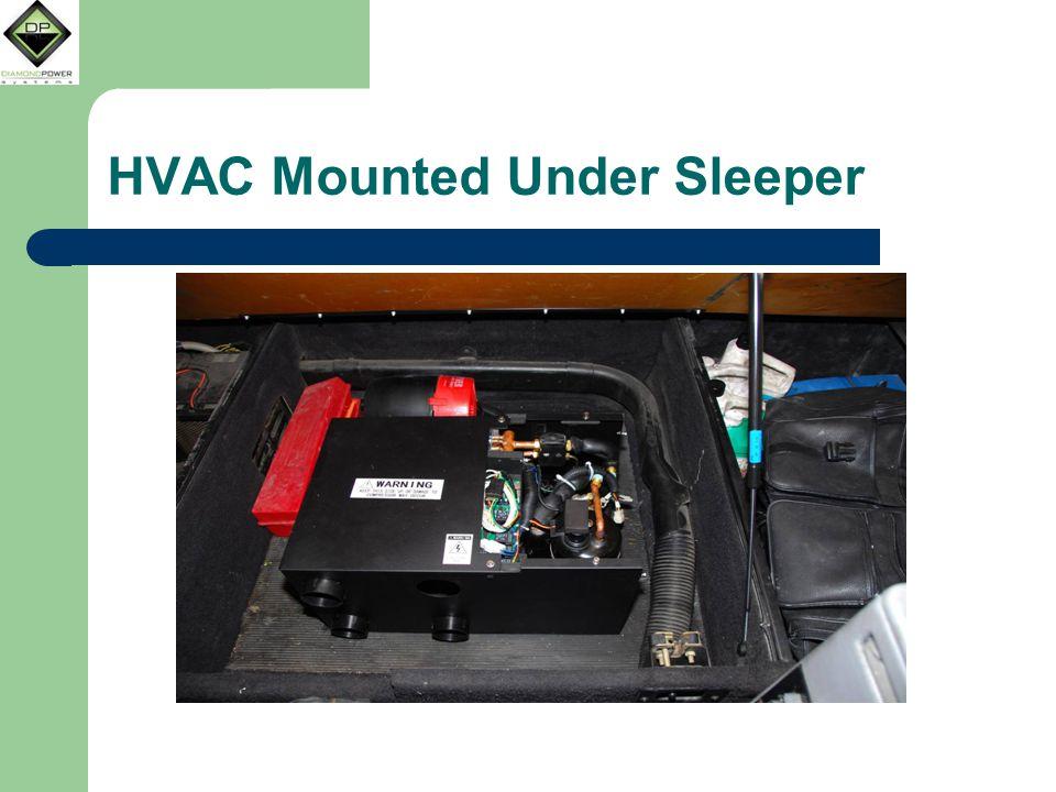 HVAC Mounted Under Sleeper
