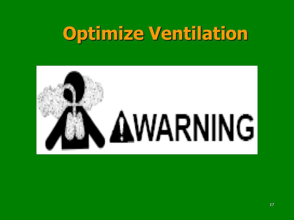 Optimize Ventilation 17