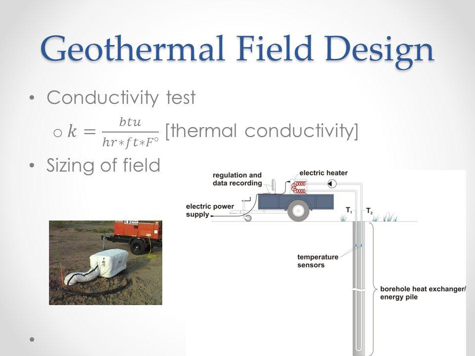 Geothermal Field Design