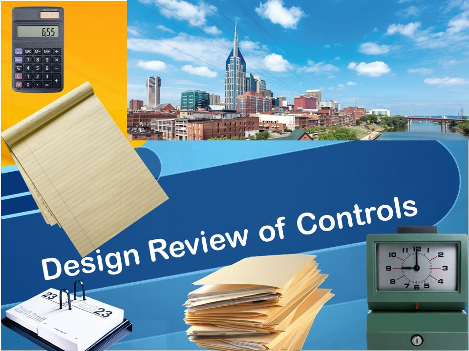 Design Review of Controls