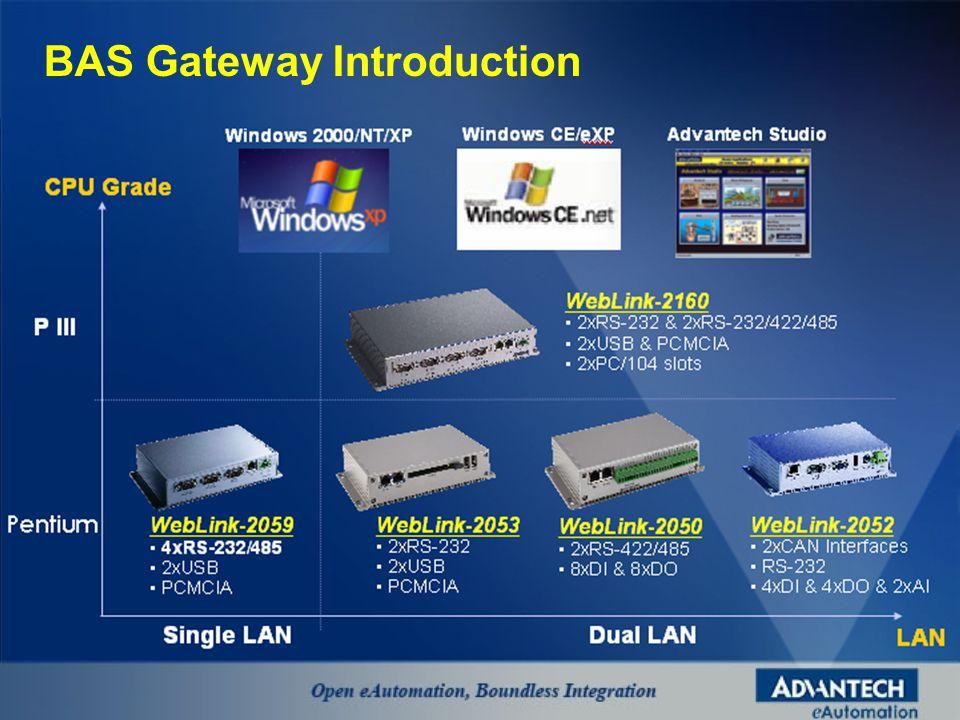 BAS Gateway Introduction