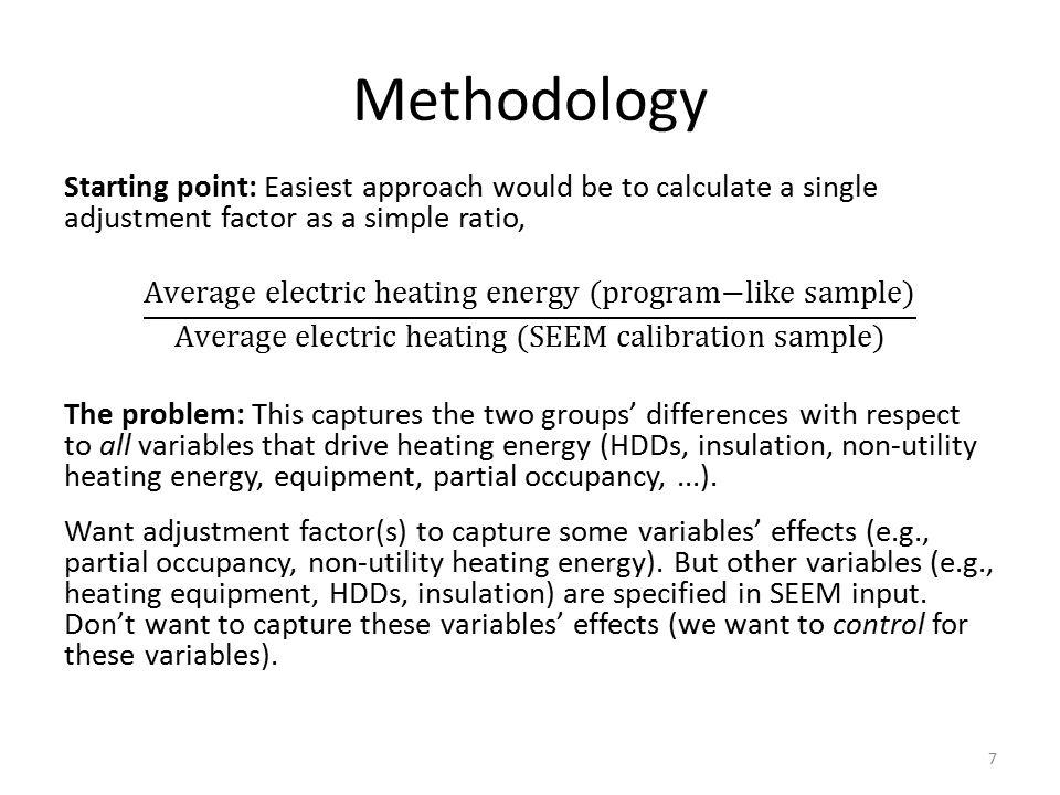 Methodology 7