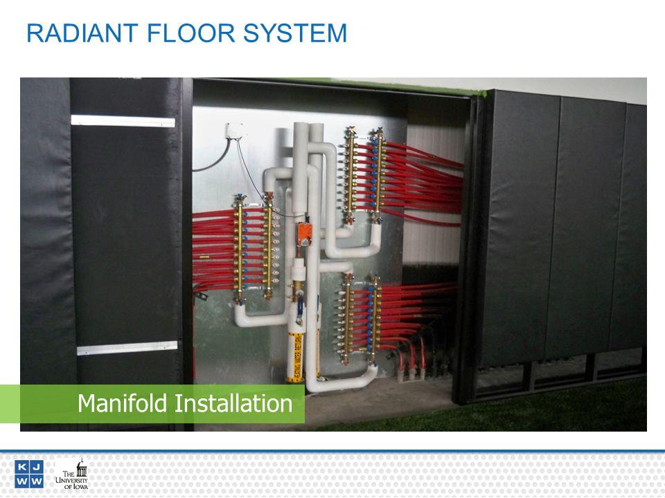 RADIANT FLOOR SYSTEM Manifold Installation
