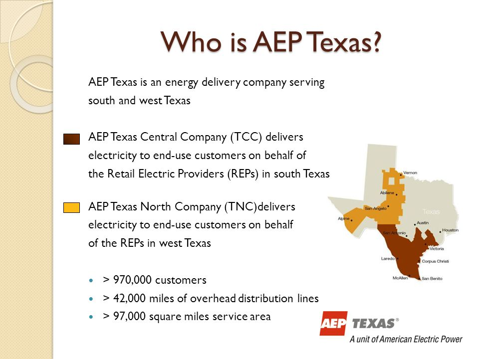 Who is AEP Texas.