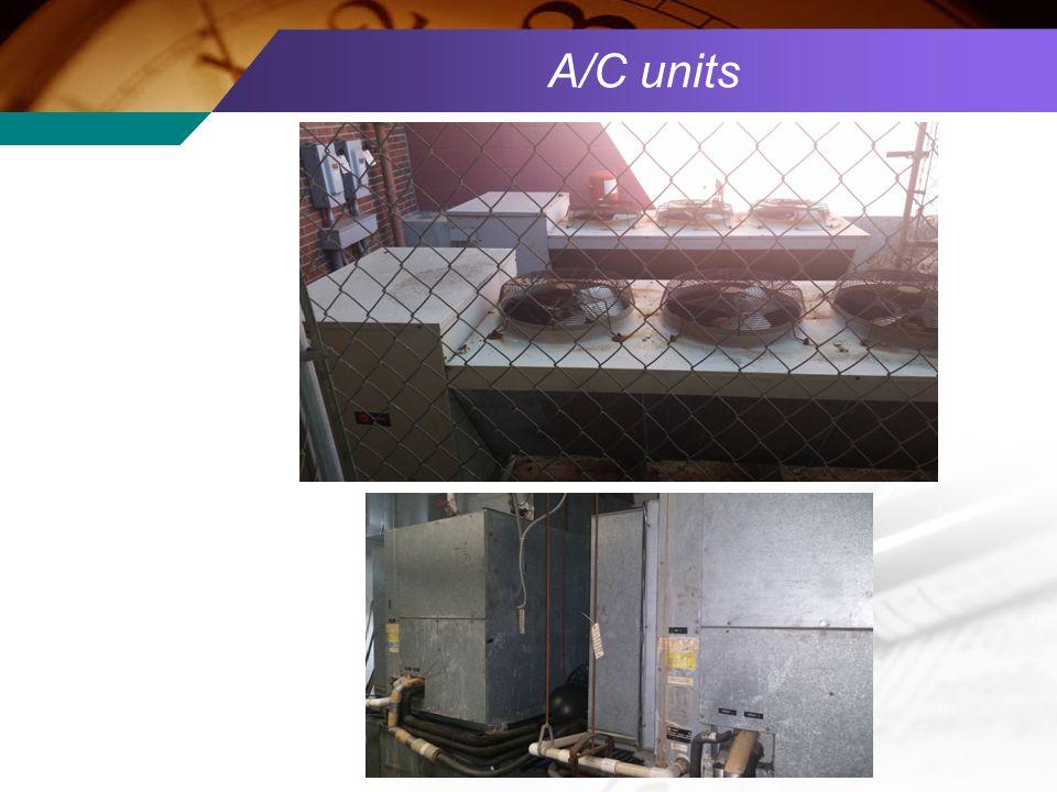 A/C units