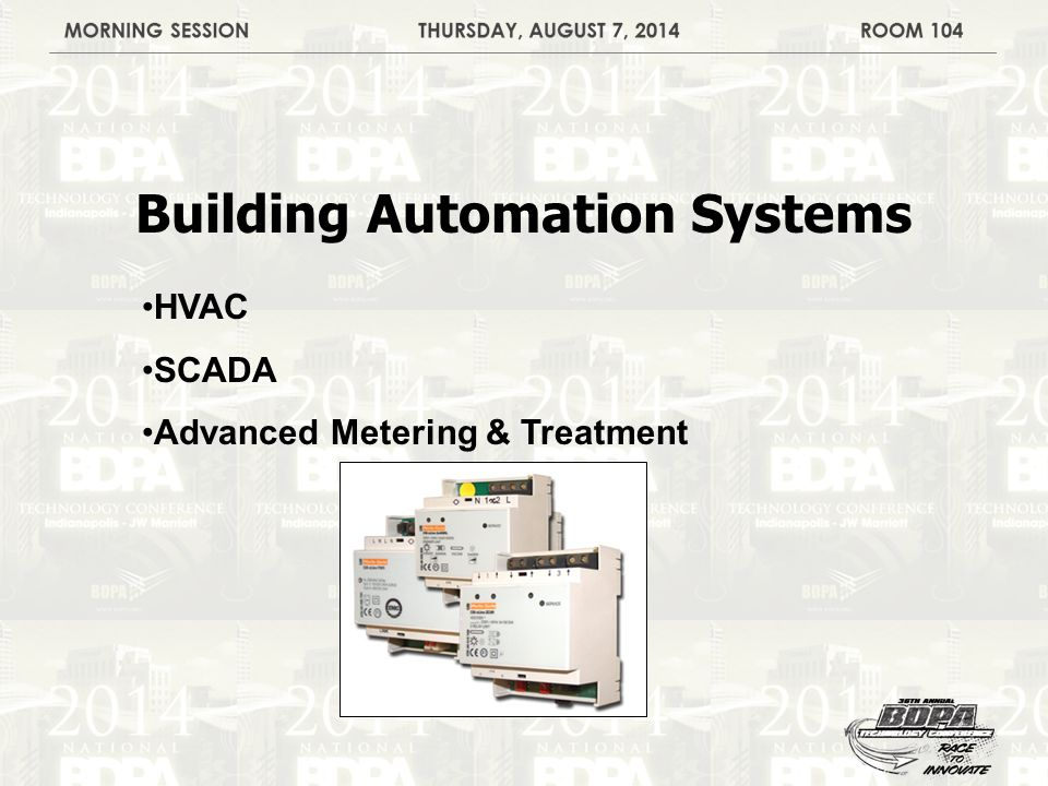 Building Automation Systems HVAC SCADA Advanced Metering & Treatment