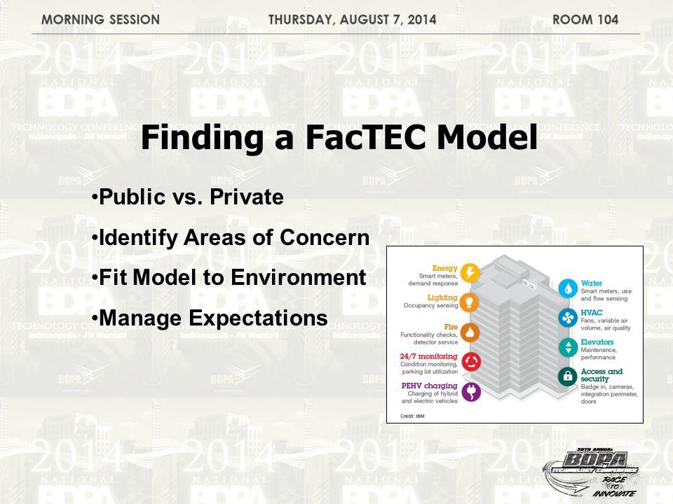 Finding a FacTEC Model Public vs.
