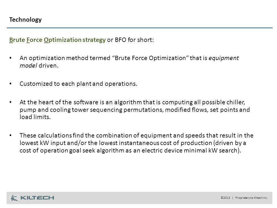 Technology ©2013 | Proprietary to Kiltech Inc.