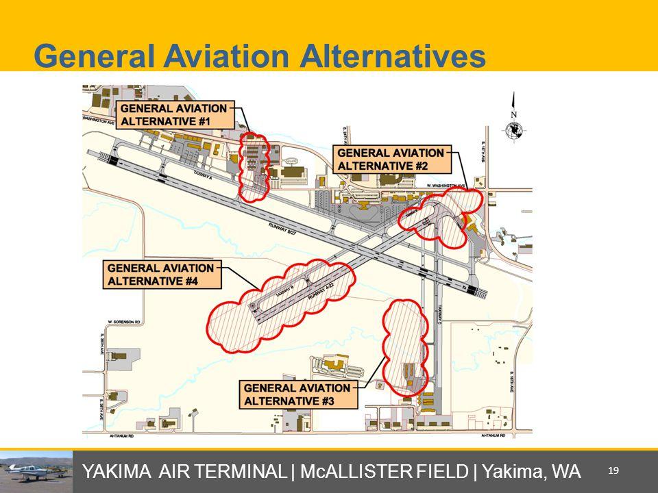 General Aviation Alternatives YAKIMA AIR TERMINAL | McALLISTER FIELD | Yakima, WA 19