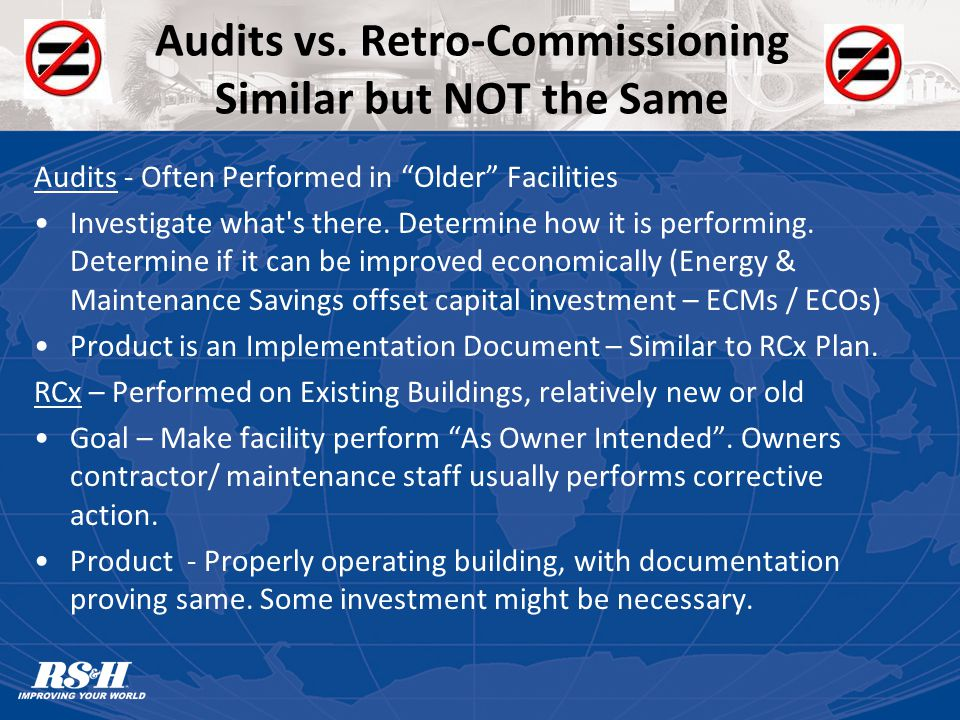 Audits vs.