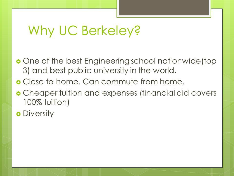 Why UC Berkeley.