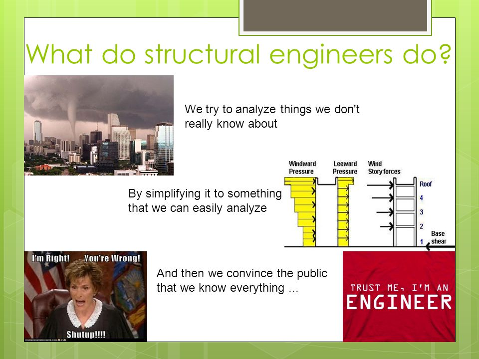 What do structural engineers do.
