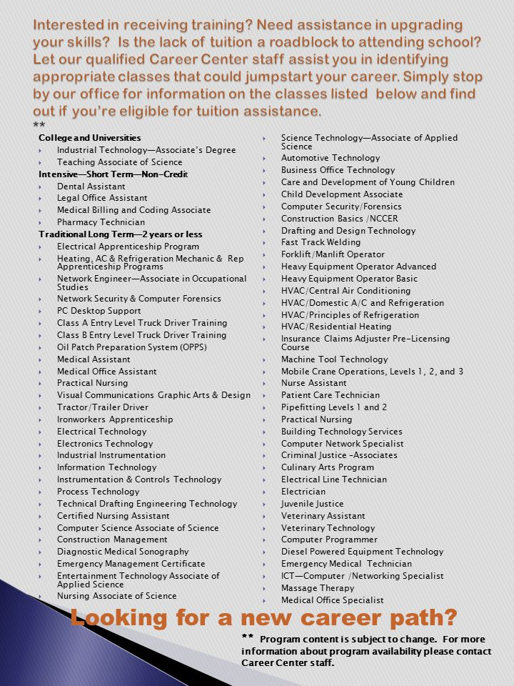 LWIA 21 Supportive Services Workforce Investment Act (WIA) Supportive Services are provided on the basis of need.
