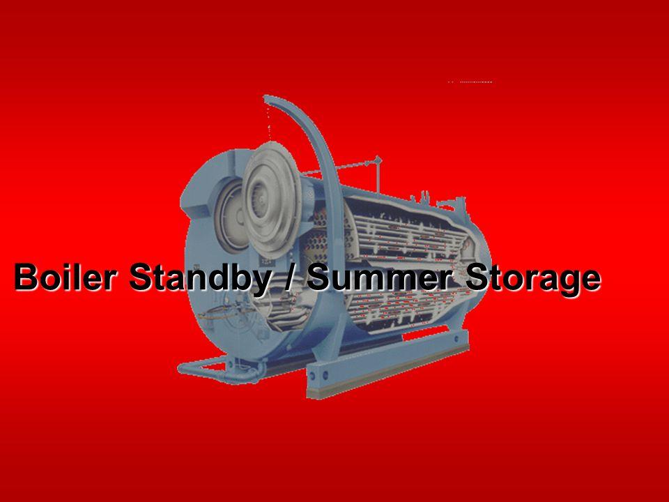 Boiler Standby / Summer Storage