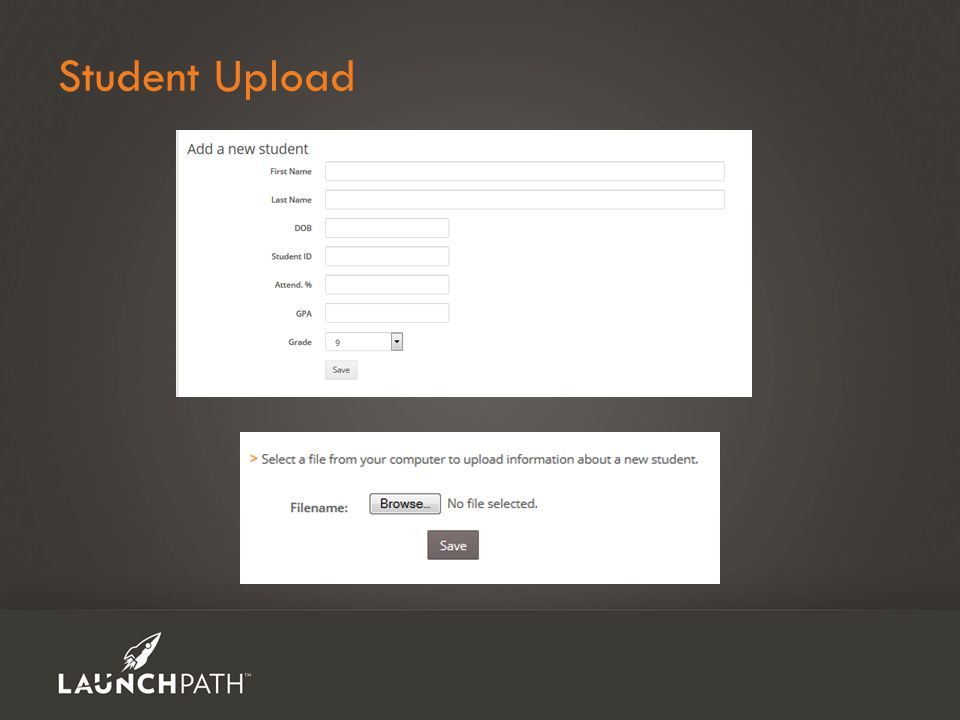 Student Upload