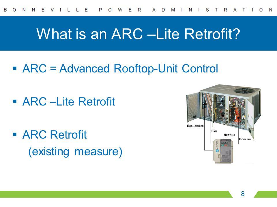 What is an ARC –Lite Retrofit.