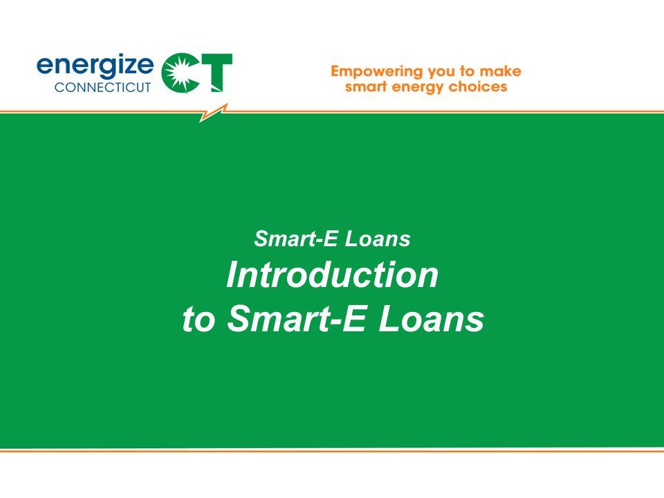 Smart-E Loans Introduction to Smart-E Loans