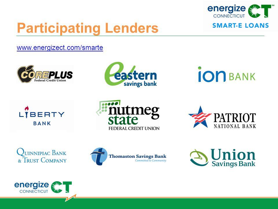 Participating Lenders www.energizect.com/smarte