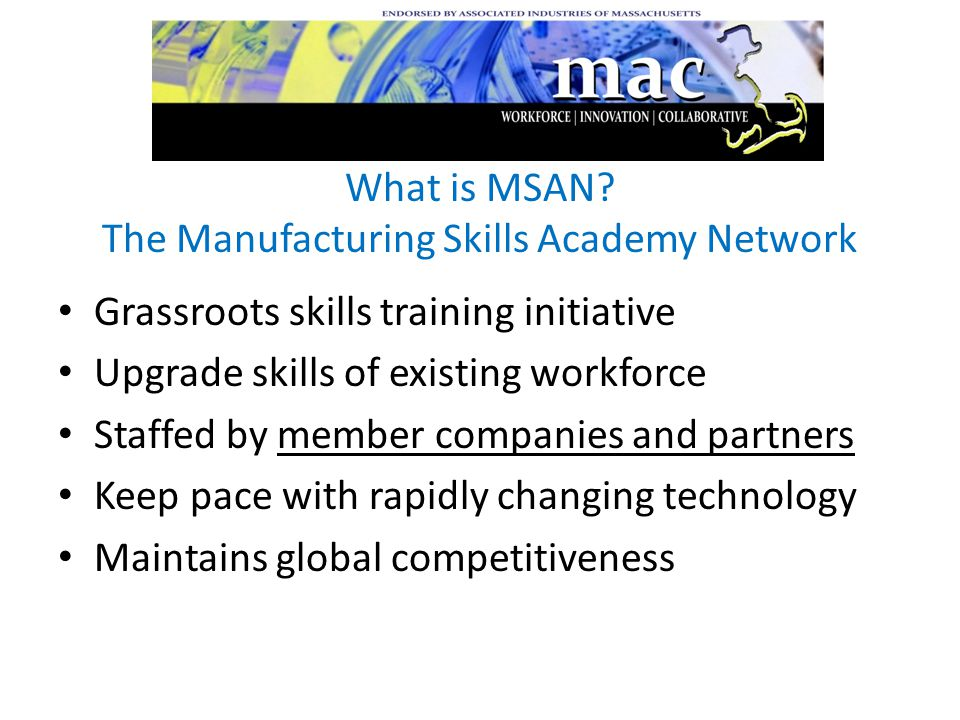 What is MSAN.