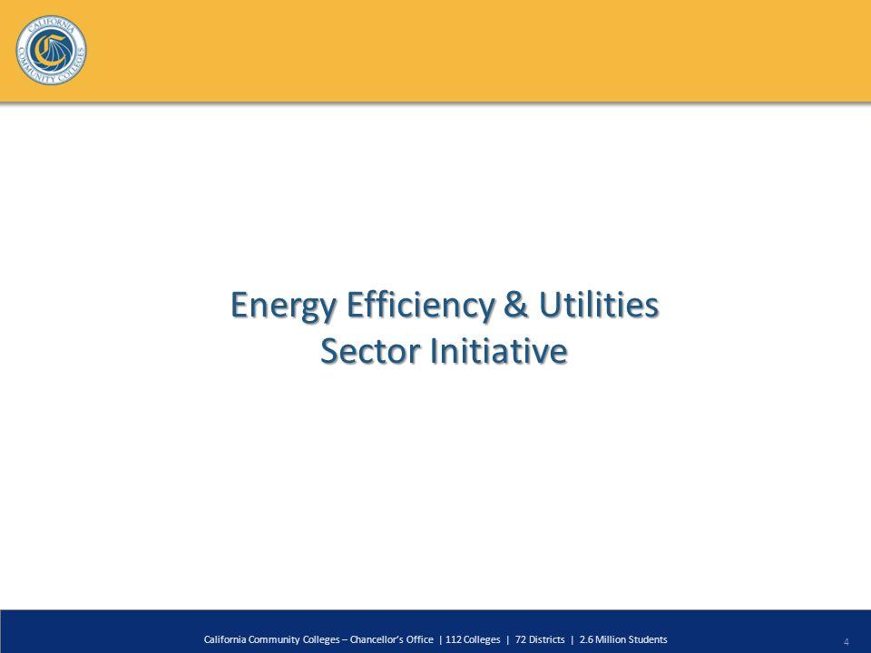 4 Energy Efficiency & Utilities Sector Initiative