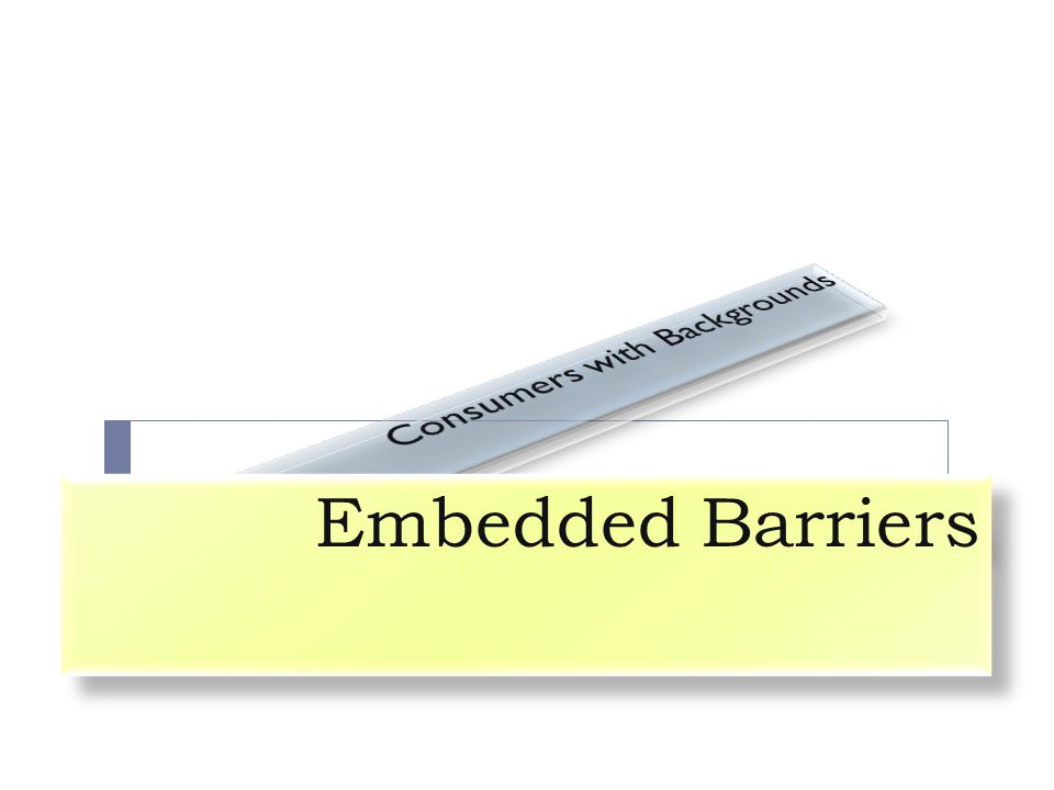 Embedded Barriers