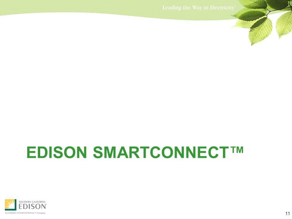 EDISON SMARTCONNECT™ 11