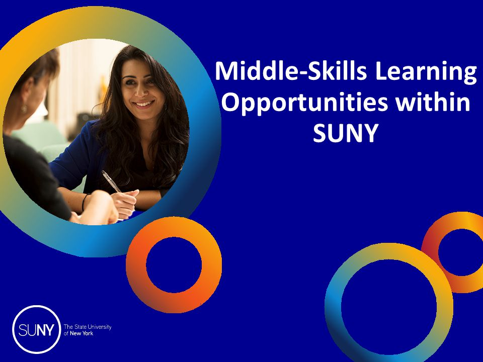OpInform 2014 Middle-Skills Learning Opportunities within SUNY