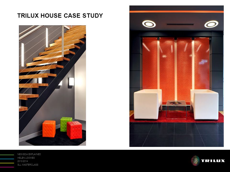 NEW ECA EXPLAINED HELEN LOOMES 2013/2014 SLL MASTERCLASS TRILUX HOUSE CASE STUDY