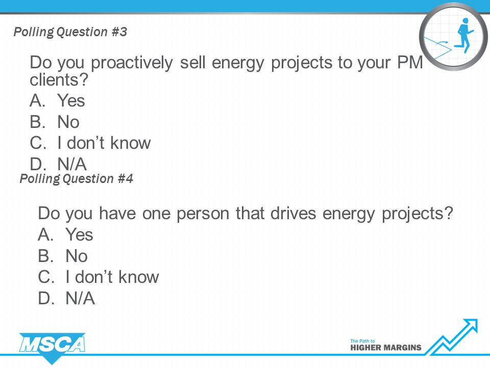 Energy Services If you care about profits, you will learn to DRIVE!