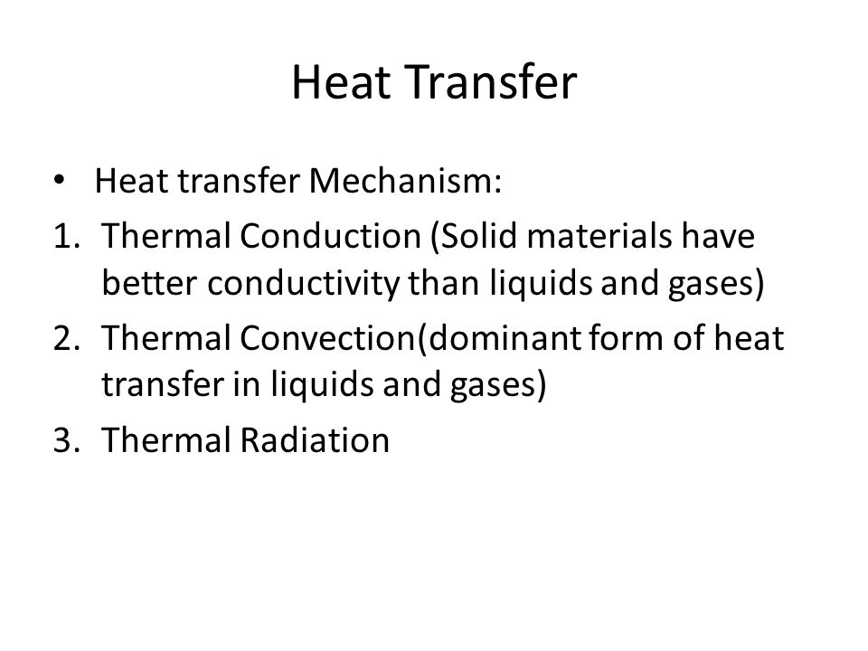 The selection of appropriate HVAC 6.