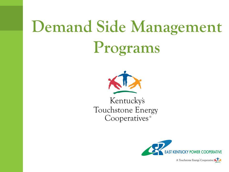 Demand Side Management Programs