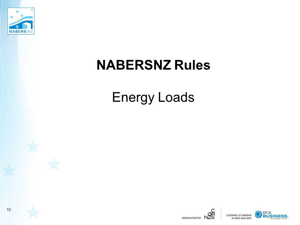 NABERSNZ Rules Energy Loads 12
