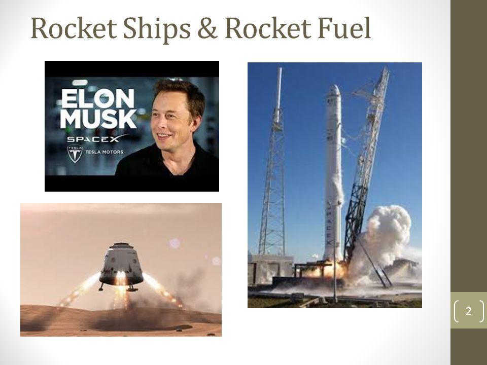 Rocket Ships & Rocket Fuel 2